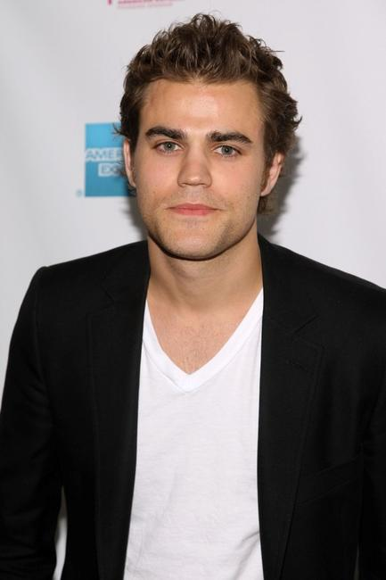 Paul Wesley at the premiere of