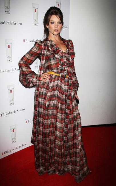 Natalie Dormer at the Elizabeth Arden Eight Hour Party.