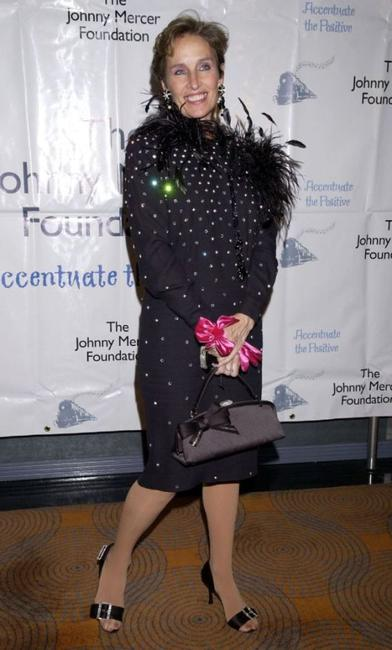 Andrea Marcovicci at the 2nd Annual Johnny Mercer Foundation Awards.