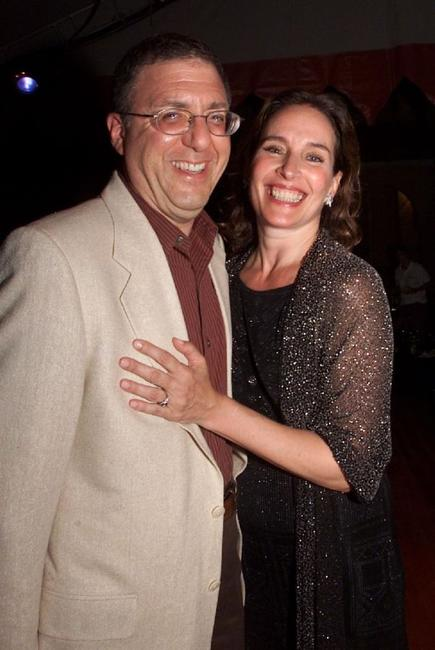 Paul Rosenblum and Andrea Marcovicci at the Caramoor International Music Festival.