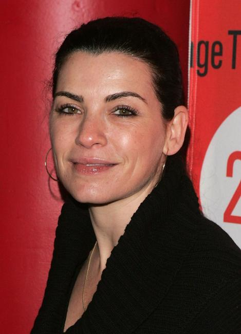 Julianna Margulies at the after party for the Second Stage Theatre opening night of