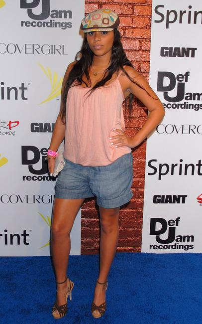 Lauren London at the Jay-Z and GIANT Magazine's MTV Movie Awards After Party.