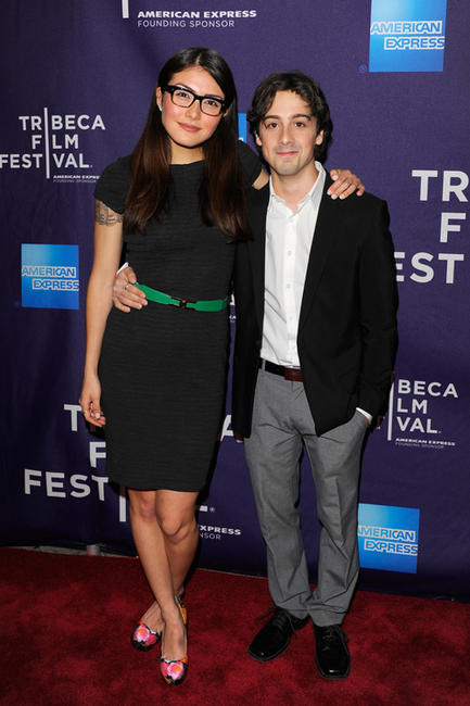 Daniella Pineda and Matt Bush at the Shorts Program