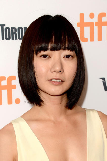 Bae Doo-na at the premiere of