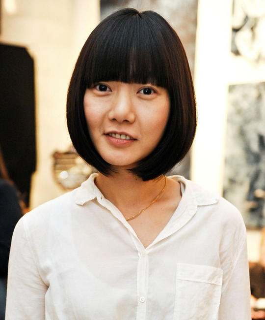 Bae Doo-na at the Guess Portrait Studio during the day 4 of the 2012 Toronto International Film Festival.