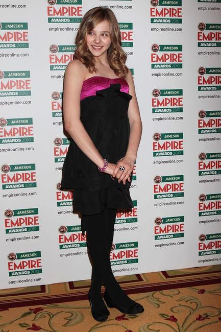 Chloe Grace Moretz at the Jameson Empire Film Awards 2010.