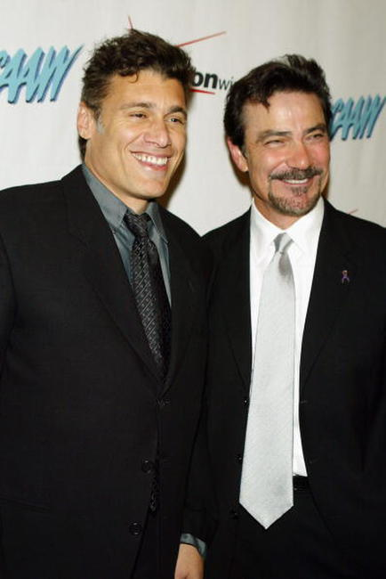 Steven Bauer and Victor Rivers at the 33rd Annual Humanitarian Awards.