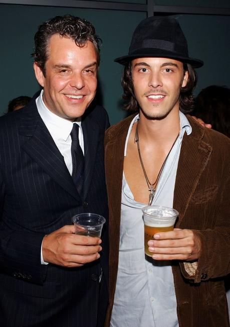 Danny Huston and Jack Huston at the after party of the Los Angeles premiere of