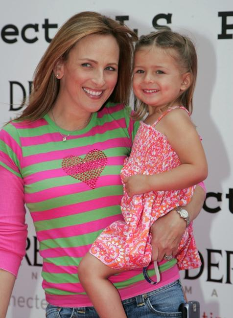 Marley Matlin and daughter Isabelle at the 6th Annual Project A.L.S. Benefit.