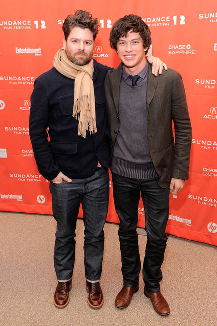 Christopher Neil and Graham Phillips at the premiere of