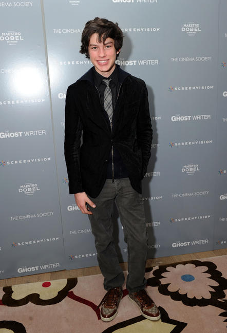 Graham Phillips at the New York premiere of