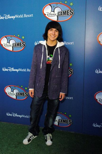 Mitchel Musso at the Disney Channel Games 2007 All-Star party.