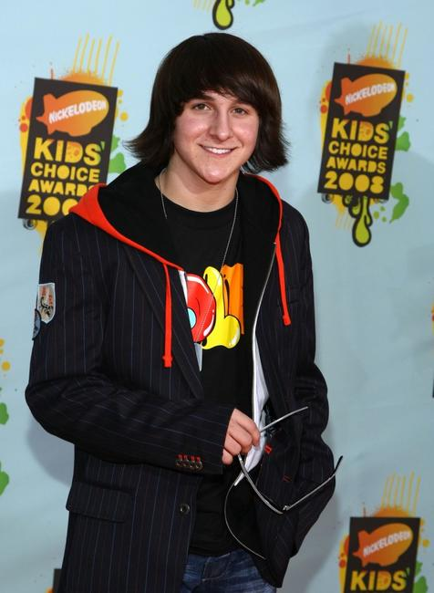 Mitchel Musso at the Nickelodeon's 2008 Kids' Choice Awards.