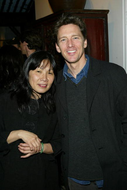Andrew McCarthy and Lan Cao at the Kodak Producers' Reception during the 2004 Tribeca Film Festival.