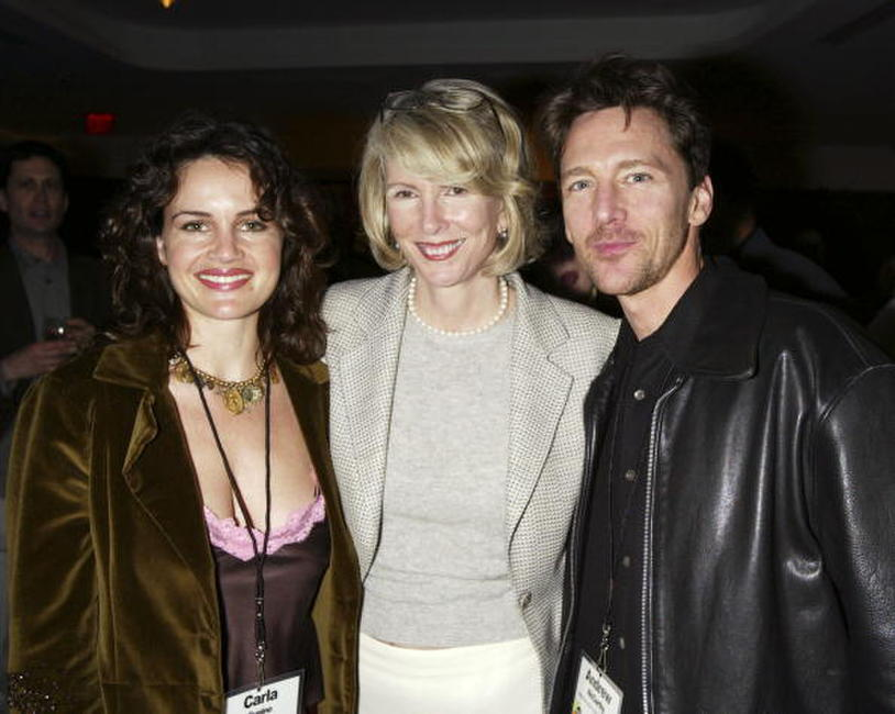 Andrew McCarthy, Carla Gugino and Susan Lyne at the ABC-TV's All-Star Party for the 2004 TCA Winter Tour.