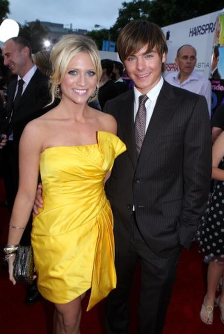 Brittany Snow and Zac Efron at the Los Angeles afterparty premiere of