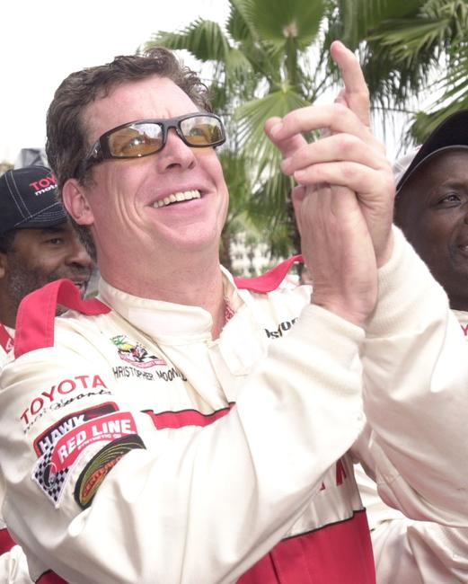 Christopher McDonald at the Toyota Pro/Celebrity Race during the 27th Annual Toyota Grand Prix.