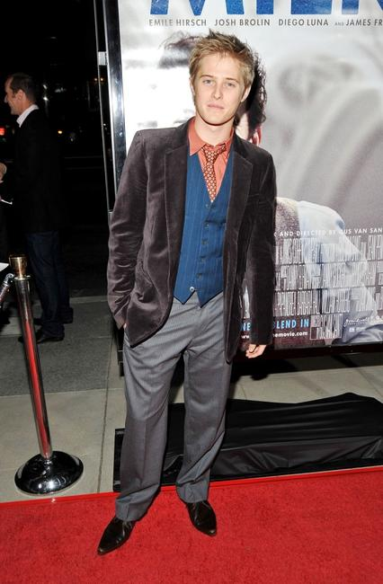 Lucas Grabeel at the Los Angeles premiere of