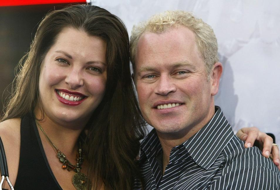 Neal McDonough and his wife Ruve Robertson at the world premiere of