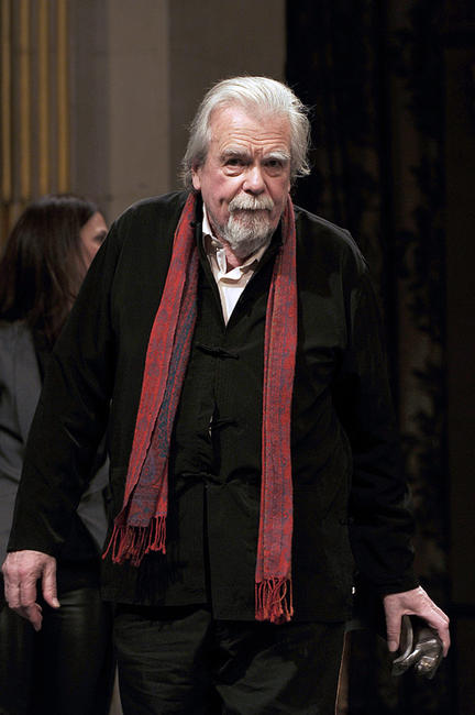Michael Lonsdale at the 16th Cerememonie Des Lumieres in France.