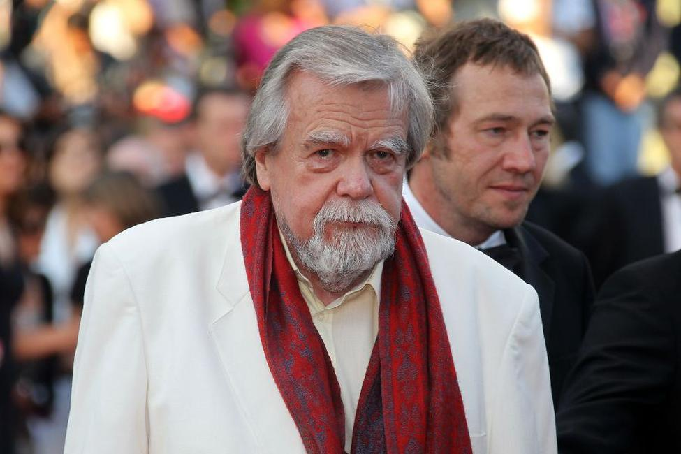 Michael Lonsdale at the screening of