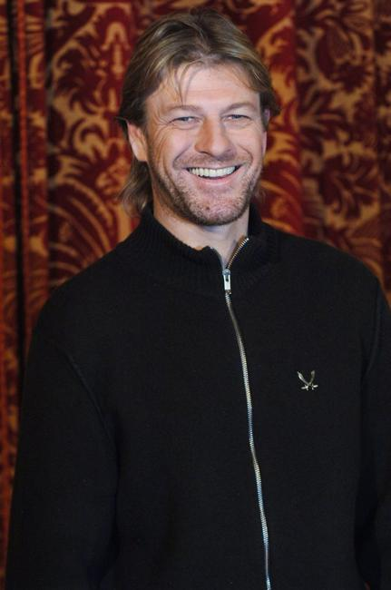 Sean Bean at photocall of the film