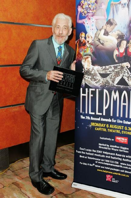 Sir Ian McKellen at the 2007 Helpmann Awards.