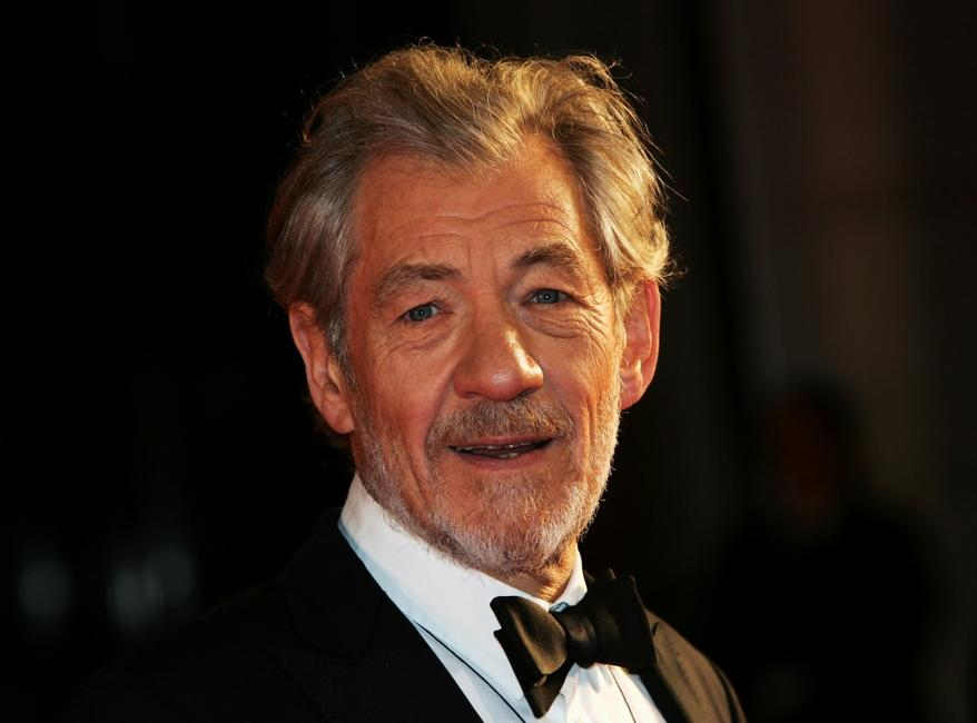 Sir Ian McKellen at the Orange British Academy Film Awards (BAFTAs).