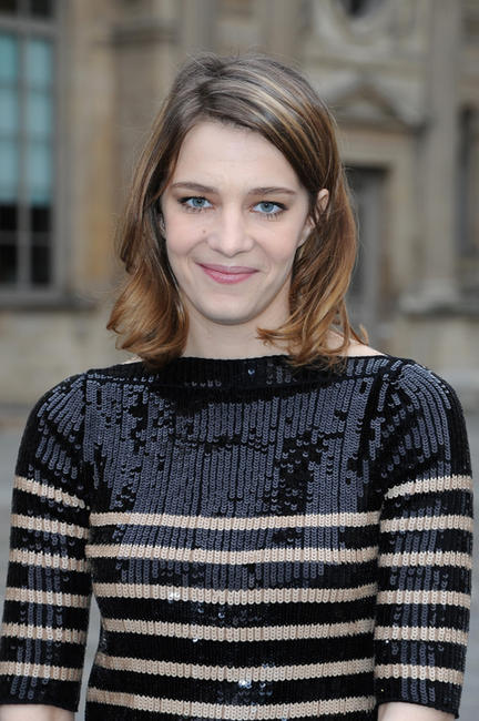 Celine Sallette at the Louis Vuitton Fall/Winter 2013 Ready-to-Wear show in France.