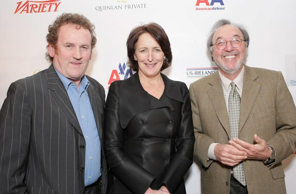 Colm Meany, Fiona Shaw and James L Brooks at the Third Annual