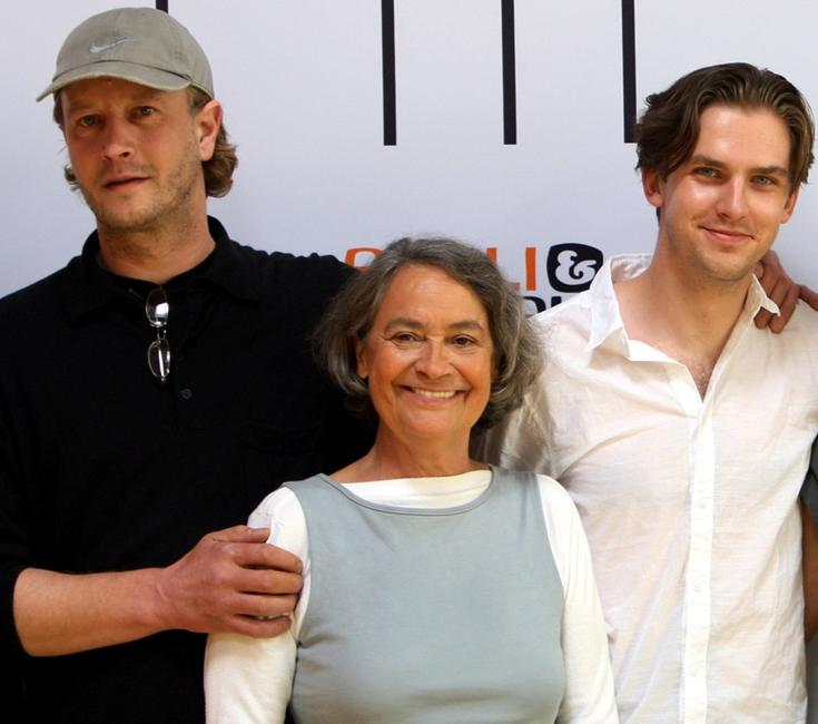 Kai Wessel, Monica Bleibtreu and Dan Stevens at the photocall of