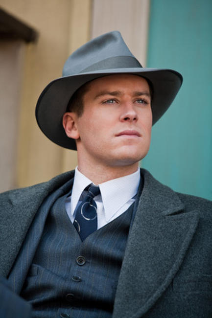 Armie Hammer as Clyde Tolson in ``J. Edgar.''