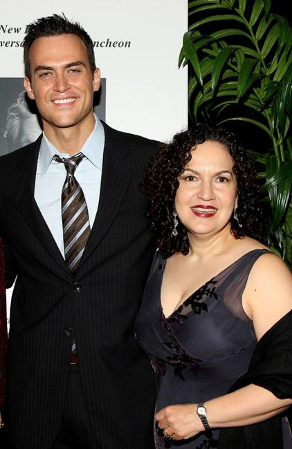 Cheyenne Jackson and Olga Merediz at the 59th Annual New Dramatists Spring Luncheon.