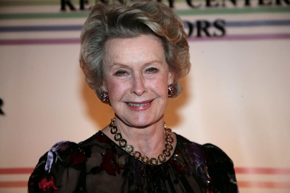 Dina Merrill at the 30th Annual Kennedy Center Honors.