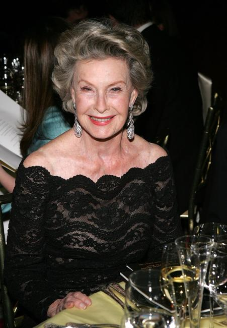 Dina Merrill at the Academy of Motion Picture Arts & Sciences New York Oscar Night Celebration.