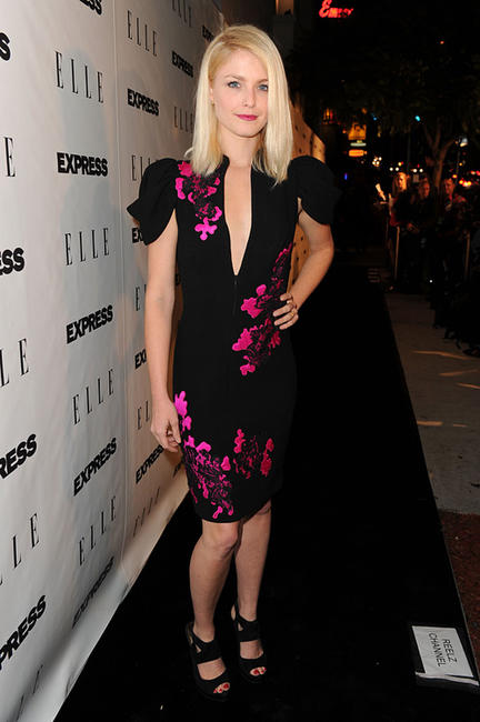 Whitney Able at the ELLE And Express