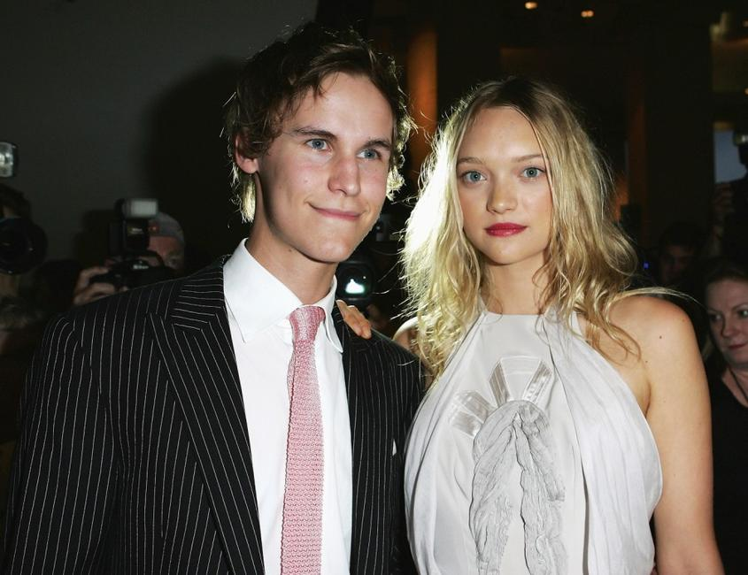 Rhys Wakefield and Gemma Ward at the Sydney premiere of