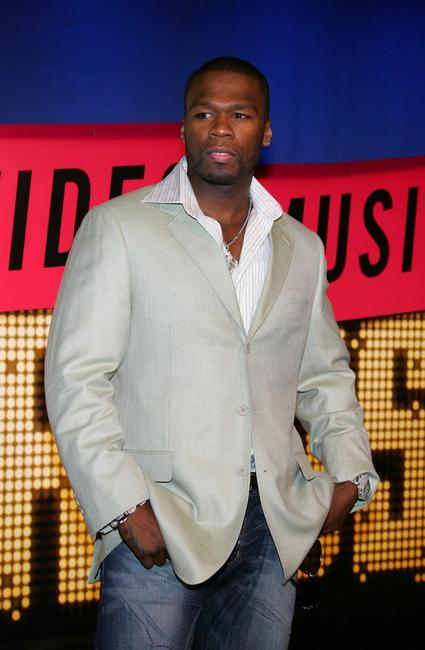 Curtis Jackson at the 2007 MTV Video Music Awards.