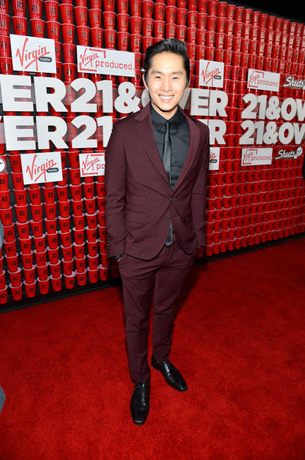 Justin Chon at the California premiere of