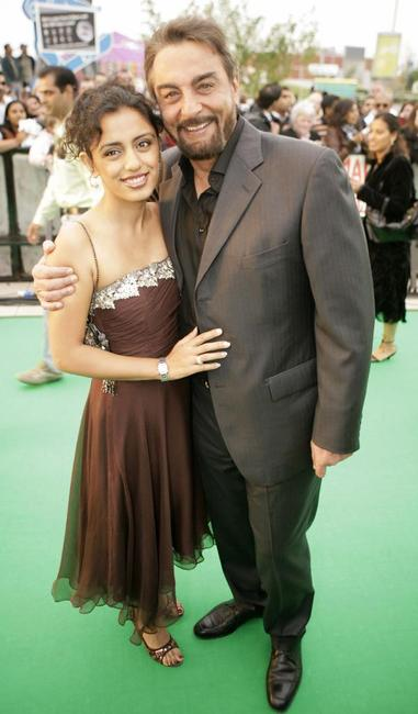Kabir Bedi and Guest at the world premiere of