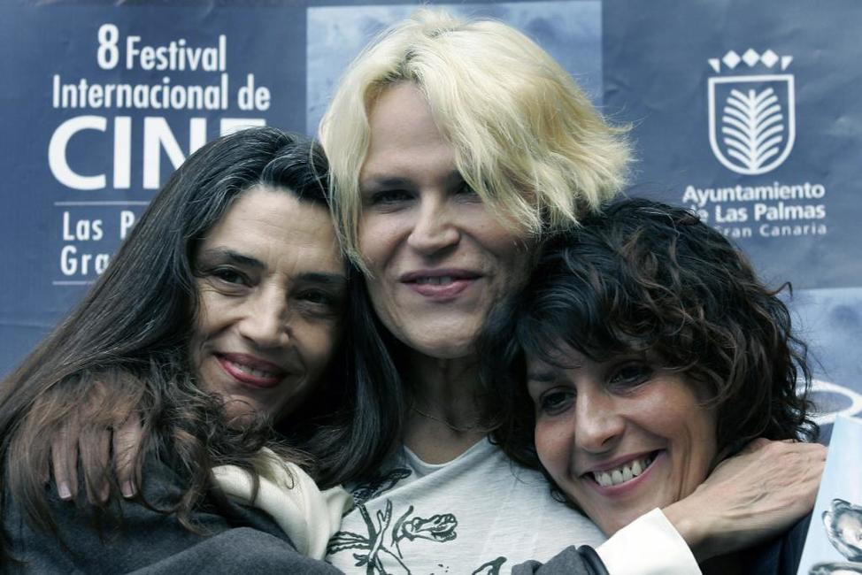 Angela Molina, Antonia San Juan and Elvira Minguez at the presentation of