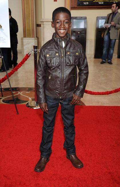 Kwesi Boakye at the premiere of