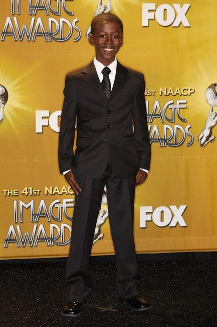 Kwesi Boakye at the 41st NAACP Image Awards.