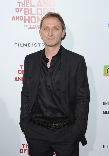 Goran Kostic at the California premiere of