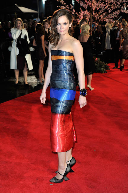 Ruth Wilson at the premiere of
