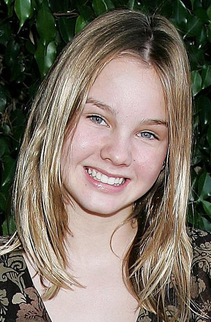 Liana Liberato at the 4th Annual Bogart Backstage Children's Choice Awards in California.