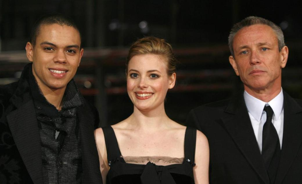 Evan Ross, Gillian Jacobs and Damian Harris at the screening of