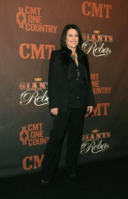 Megan Mullally at the Country Music Television's CMT Giants honoring Reba McEntire.