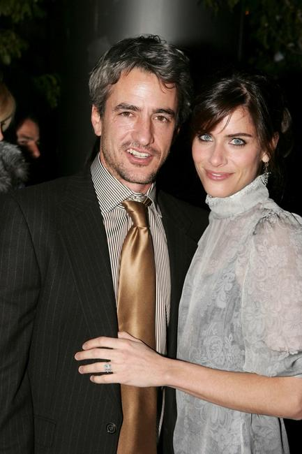 Dermot Mulroney and Amanda Peet at the world premiere of