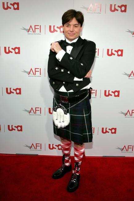 Mike Myers at the 34th afi Life Achievement Award.